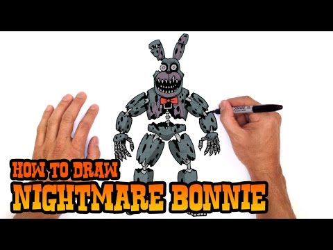 Xxx Mp4 How To Draw Nightmare Bonnie Five Nights At Freddy S 3gp Sex