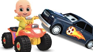 Monster Trucks  toy and Bikes  videos for kids | Kids toys surprise eggs videos by jugnu kids