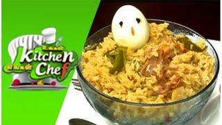 Chettinadu Chicken Biryani  - Ungal Kitchen Engal Chef (04/12/2014)