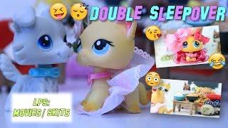 LPS: Double Sleepover - Funny/Crazy Skit