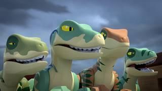 LEGO Jurassic World: The Secret Exhibit: Owen Grady Meets Blue for the First Time!