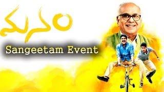 Manam Full Length Sangeetam Event - ANR, Nagarjuna, Naga Chaitanya, Samantha