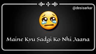 💞 Dil De Diya Hai Jaan Tumhe Denge | Sad Song Whatsapp Status VIDEO | Siddharth Slathia | Masti 💞