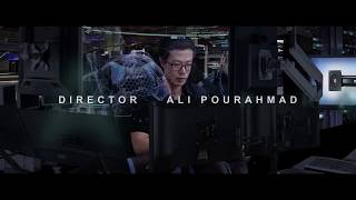 علی پوراحمد کارگردان و بازیگر یک فیلم علمی تخیلی در هالیوود