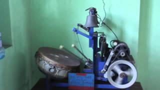 Electric temple drum / Automatic arti machine