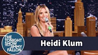 Heidi Klum Yodels a German Tune