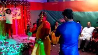 dhakai shari dance raju and farjana
