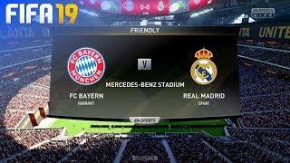 FIFA 19 - FC Bayern München vs. Real Madrid (Pre-Season)