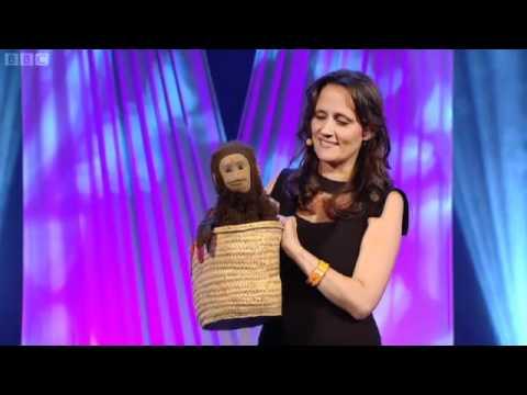 Nina Conti monkey act at Edinburgh Comedy Live