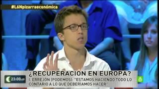 Íñigo Errejón deja sin Argumentos a la Derecha