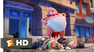 Captain Underpants: The First Epic Movie (2017) - Stop That Gorilla! Scene (6/10) | Movieclips
