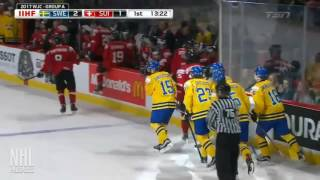 Lias Andersson 1G vs Switzerland | Dec 28 2016 | U20 World Juniors