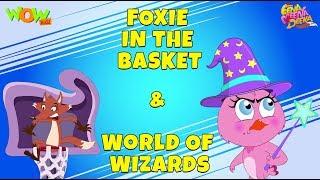 Foxie in the basket | World Of Wizards - Eena Meena Deeka - Animated cartoon for preeschool kids
