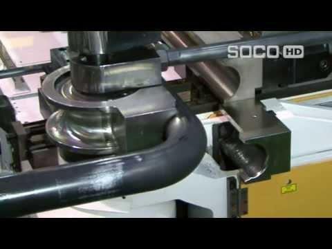 Curvadora de Tubo CNC Hidráulica Modelo SB 90 AUTO. Marca SOCO. TUBEMAC 55 11 2778 1733.