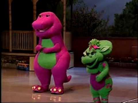 Barney El mundo de colores Musical