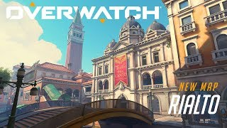 [NOW PLAYABLE] Rialto   New Escort Map   Overwatch
