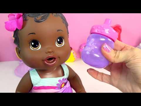 Babysitting Disney Frozen Princess Anna Amp Baby Alive Doll