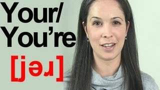 How to Pronounce the Word YOUR in a Sentence - American English Pronunciation