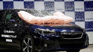 تجهیز خودروها به ایربگ خارجی برای افزایش ایمنی عابران پیاده