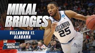 Mikal Bridges shines in Villanova's win over Alabama
