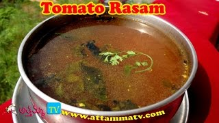 Tomato Rasam (టమాట చారు): How to Make Tomato Rasam Recipe by Attamma TV