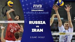 Russia v Iran highlights - FIVB World League