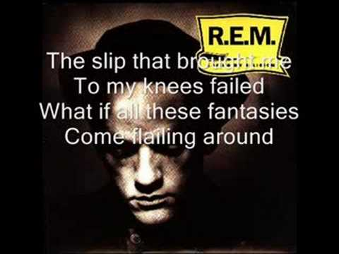R.E.M. - Losing my religion (lyrics)
