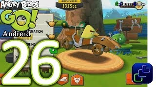 Angry Birds GO! Android Walkthrough - Part 26 - STUNT: Track 3 - Chuck