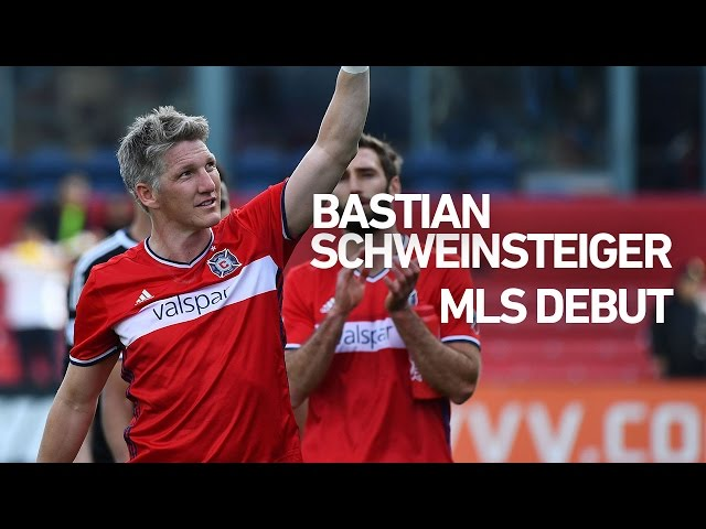Bastian Schweinsteiger's MLS Debut