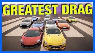 Forza Horizon 3 Online : WORLD'S GREATEST DRAG RACE!!