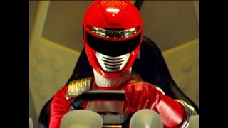 Power Rangers Operation Overdrive - Home and Away - Megazord Fight 1 (Episode 28)