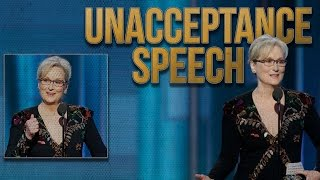 Meryl Streep Golden Globes Speech Calls Out Trump