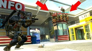 ALL 17 OF THEM WERE HIDING ON TOP OF THE PHONE BOOTH!!! HIDE N' SEEK ON BLACK OPS 2