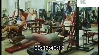 1980s Gym, Women Workout, Fitness, Aerobics, Exercise