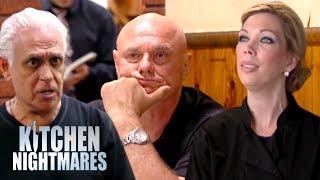 Gordon Ramsay vs Amy's Baking Company vs Nino | Kitchen Nightmares