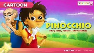 Pinocchio | पिनोकियो  |  बच्चों की नयी हिंदी कहानियाँ