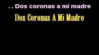 Shaila Dúrcal Dos coronas a mi madre karaoke