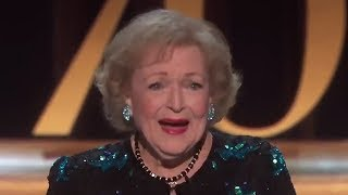 Betty White Receives STANDING Ovation During 2018 Emmys Speech