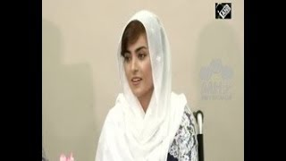 Afghanistan News - Afghans thankful to Indian government for support Activist Breshna Musazai