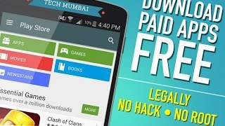 HOW TO DOWNLOAD PAID APPS FOR FREE.(TECH MUMBAI)
