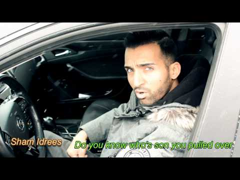 When a POLICE OFFICER Pulls You Over (White VS DESI) - SHAM IDREES
