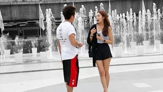 ASKING 100 THAI GIRLS TO HAVE SEX หนุ่มฝรั่ง ถามสาวไทยกว่า 100 คน ว่า ขอมีเซ็กด้วยได้ไหม
