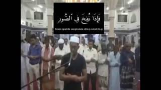 Imam Dadakan TKI Merdu Ada Teks Surah Al-Haqqah dan Terjemahan Indonesia