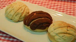 Receta fácil de conchas Mexicanas paso a paso (pan de dulce)