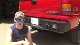 Custom Silverado Truck Bumper