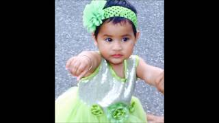 Mishika Nandecha's First Birthday Video