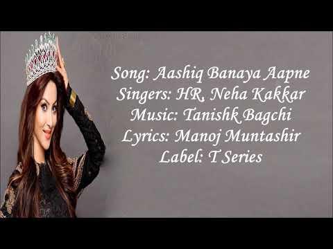 Xxx Mp4 Aashiq Banaya Lyrics Song Hate Story4 3gp Sex