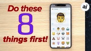 iPhone XS - First 8 things you should do!