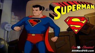SUPERMAN CARTOON: Billion Dollar Limited (1942) (Remastered) (HD 1080p)