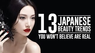 13 Outrageous Modern Japanese Beauty Trends That Actually Exists